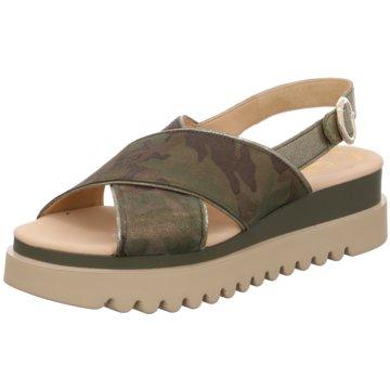 Gabor Top Trends SandalettenSandale grün