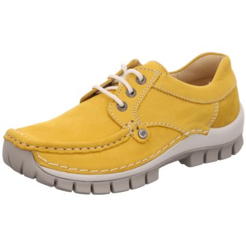 Wolky Komfort MokassinSneaker gelb