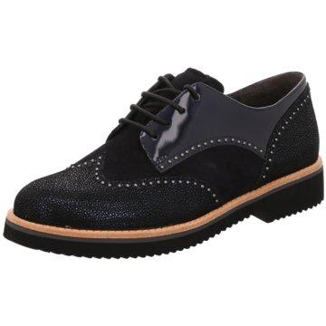 Gabor comfort Top Trends SchnürschuheSneaker schwarz