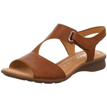 Gabor Komfort Sandale braun