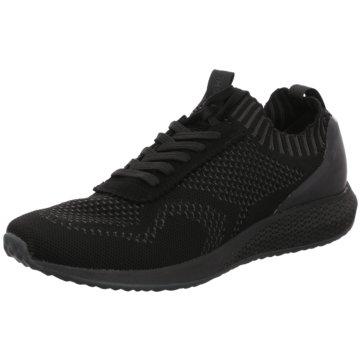 Tamaris Sportlicher SchnürschuhSneaker schwarz