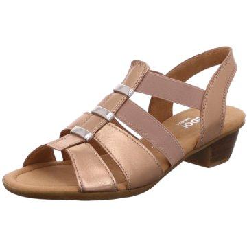 Gabor comfort Komfort PantoletteSandale gold