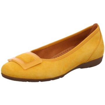 Gabor Klassischer Slipper gelb