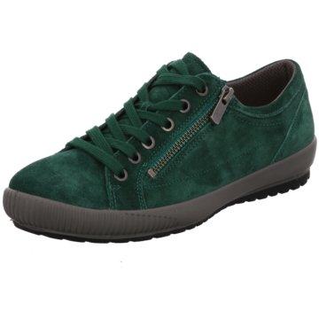 Legero Komfort SchnürschuhSneaker grün