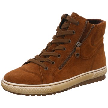 Gabor Sneaker HighChelsea-Bootie braun