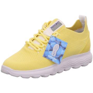 Geox FreizeitschuhSneaker gelb