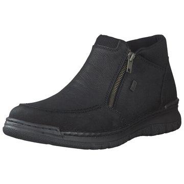 Rieker Komfort StiefelFest schwarz