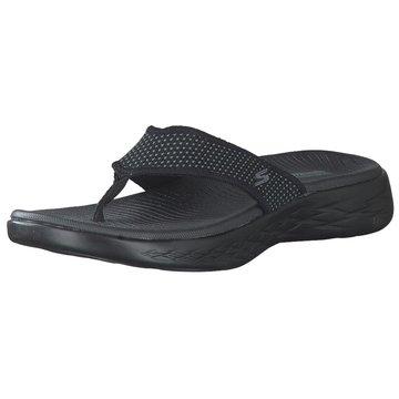 Skechers Bade- Zehentrenner schwarz