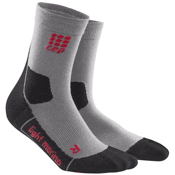 CEP Hohe SockenOutdoor Light Merino Mid-Cut Socks Women grau