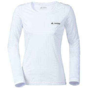 VAUDE LangarmshirtWomen's Brand LS Shirt weiß