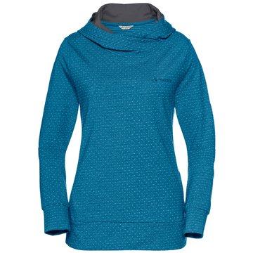 VAUDE Pullover blau