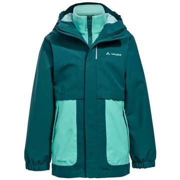 VAUDE FunktionsjackenKIDS CAMPFIRE 3IN1 JACKET GIRLS - 40604 lachs