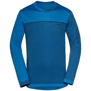 VAUDE Langarmshirt blau