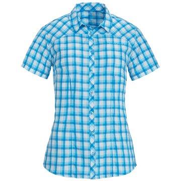 VAUDE KurzarmblusenWomen's Tacun Shirt türkis