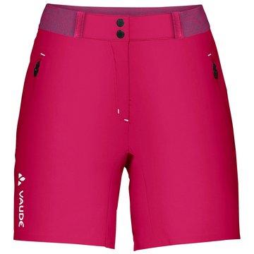 VAUDE kurze SporthosenWomen's Scopi LW Shorts II rosa