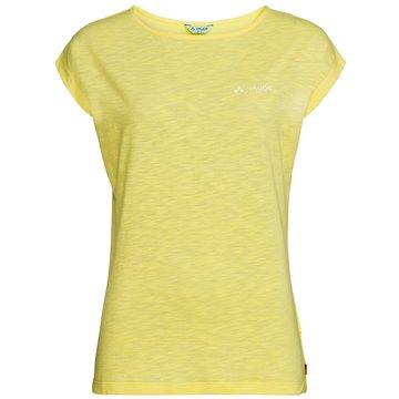 VAUDE Funktionsshirts gelb