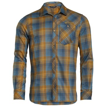 VAUDE LangarmhemdenMen's Neshan LS Shirt III braun