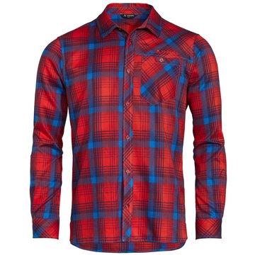 VAUDE LangarmhemdenMen's Neshan LS Shirt III rot