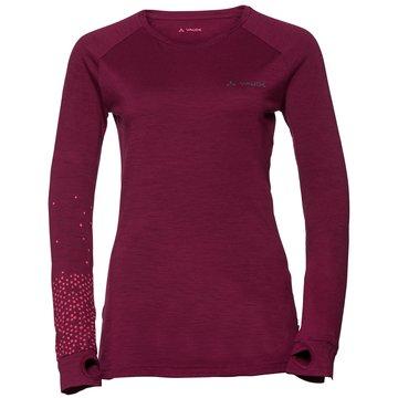 VAUDE Shirts & Tops rot