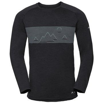 VAUDE Shirts & TopsMEN'S BASE LS SHIRT - 41222 schwarz
