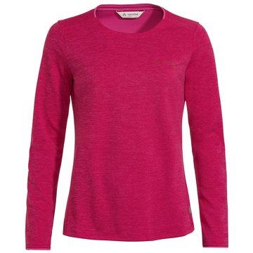 VAUDE LangarmshirtWomen's Essential LS T-Shirt rot