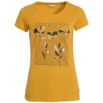 VAUDE T-ShirtsWomen's Skomer Print T-Shirt gelb