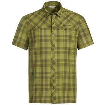VAUDE KurzarmhemdenMen's Gorty Shirt grün