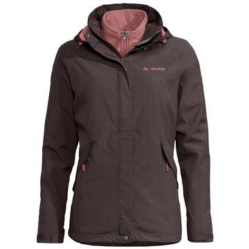 VAUDE FunktionsjackenWomen's Rosemoor 3in1 Jacket braun