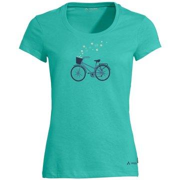 VAUDE T-ShirtsWomen's Cyclist T-Shirt V türkis