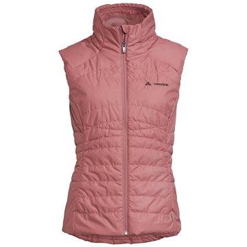 VAUDE WestenWomen's Skomer Insulation Vest rosa