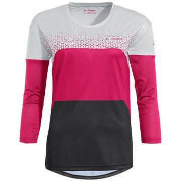 VAUDE LangarmshirtWomen's Moab LS T-Shirt V rosa