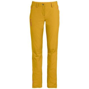 VAUDE OutdoorhosenWomen`s Skomer Pants II gelb