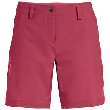 VAUDE kurze SporthosenWomen's Skomer Shorts III rot