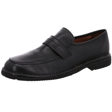 Sioux Business SlipperGardino schwarz