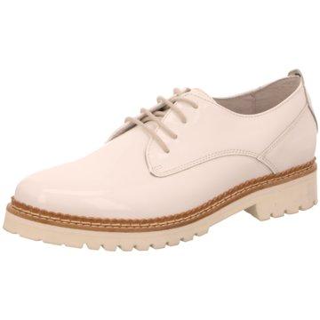 SPM Shoes & Boots Klassischer Schnürschuh weiß
