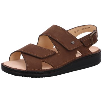 FinnComfort Sandale braun