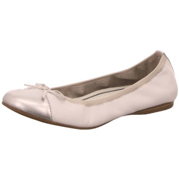 Tamaris Faltbarer Ballerina weiß