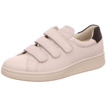 Damen Damen Ecco Schuhe Silber Schwarz Weiß Flache Tonder