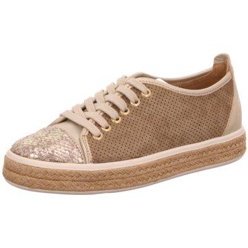 Alpe Woman Shoes Sportlicher Schnürschuh grau