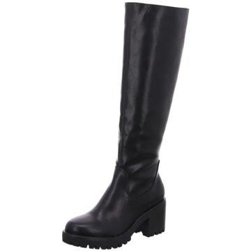 Buffalo Klassischer Stiefel schwarz