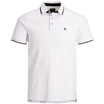 Jack & Jones Poloshirts weiß