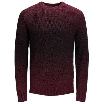Jack & Jones Strickpullover rot