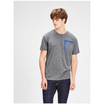 Jack & Jones T-Shirts basic grau