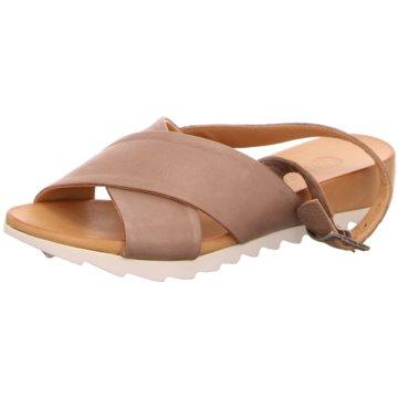 MACA Kitzbühel Sandale beige