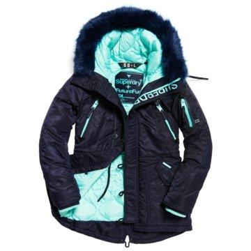 Superdry Winterjacken blau
