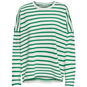 Only Langarmshirt grün