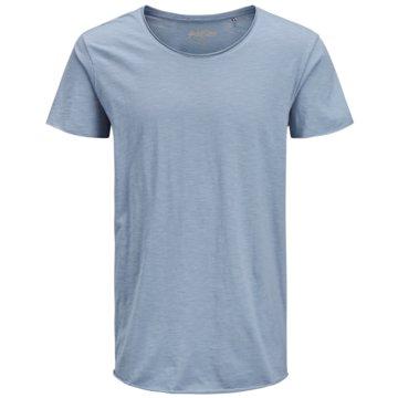 Jack & Jones T-Shirts basic blau