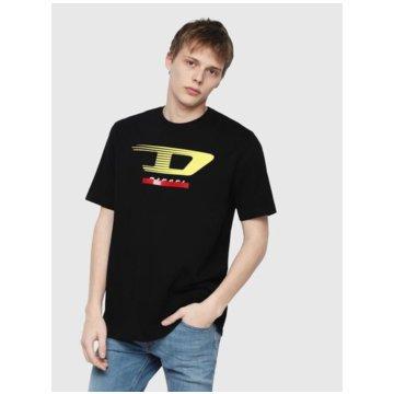 Diesel T-Shirts print schwarz