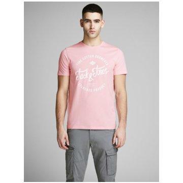 Jack & Jones T-Shirts print rosa