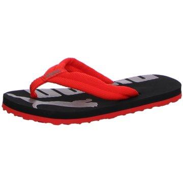 Puma Offene Schuhe schwarz